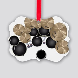My Drums Picture Ornament