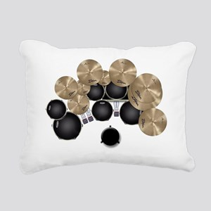 My Drums Rectangular Canvas Pillow