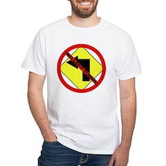 no Left Turns White T-Shirt