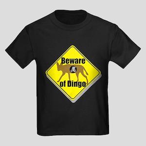Beware of Dingo! Kids Dark T-Shirt
