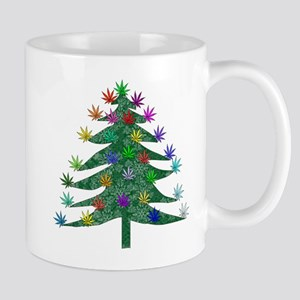 Holiday Marijuana Tree Mugs