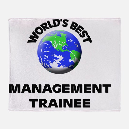 World's Best Management Trainee Throw Blanket
