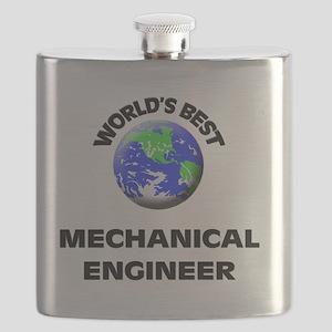 World's Best Mechanical Engineer Flask