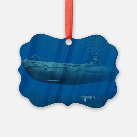 s_cutting_board_820_H_F Ornament