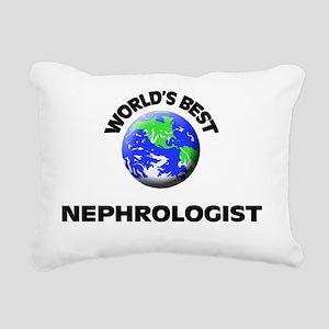 World's Best Nephrologis Rectangular Canvas Pillow