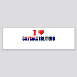 I love Cayman Islands Bumper Sticker