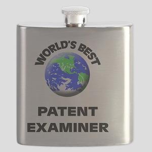World's Best Patent Examiner Flask