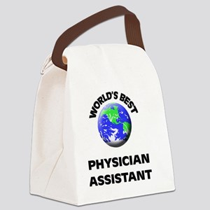 World's Best Physician Assistant Canvas Lunch Bag