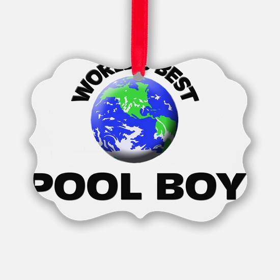 World's Best Pool Boy Ornament