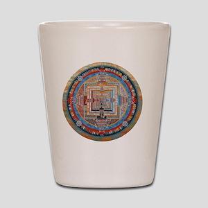 Mandala one Shot Glass
