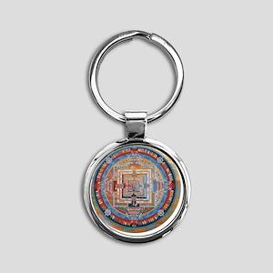 Mandala one Round Keychain
