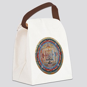 Mandala one Canvas Lunch Bag
