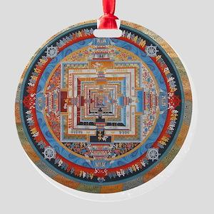 Mandala one Round Ornament