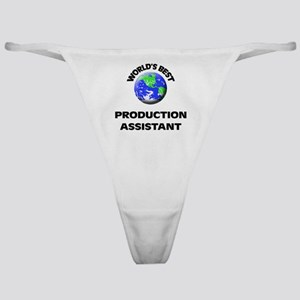 World's Best Production Assistant Classic Thong