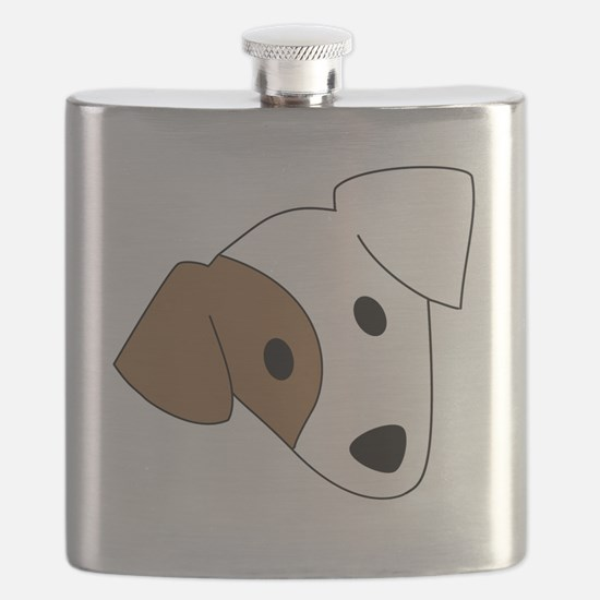 Georgia Jack Russell Rescue, Adoption & Sanc Flask