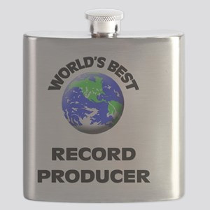 World's Best Record Producer Flask