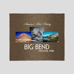 Big Bend Throw Blanket