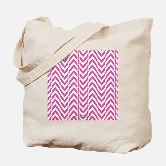 Chevron Zig Zag Pattern Tote Bag