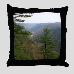 PA Grand Canyon Throw Pillow