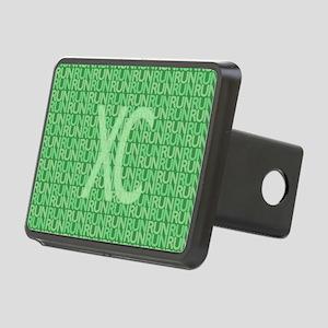 XC Run Run Green Rectangular Hitch Cover