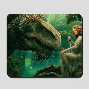 green_dragon_hrect_01 Mousepad