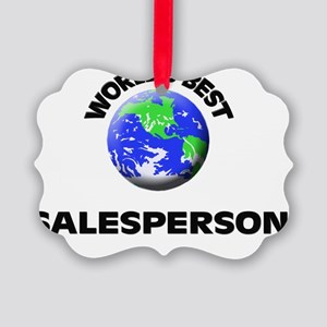 World's Best Salesperson Picture Ornament