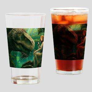 S-KINGDUVET-4032x3456-greendragon Drinking Glass