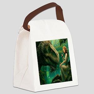 S-SHOWERCURTAIN-2556X2592-greendr Canvas Lunch Bag
