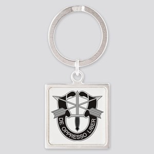 Special Forces Insigna Square Keychain