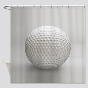 Golf Ball Sport Shower Curtain