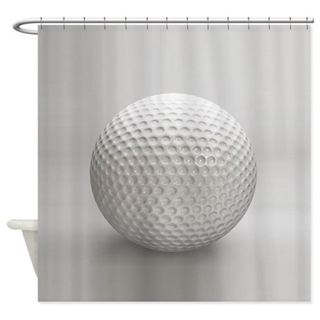 Golf Ball Sport Shower Curtain By Admin CP11861778