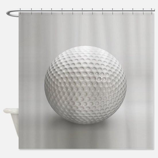 Golf Ball Sport Shower Curtain