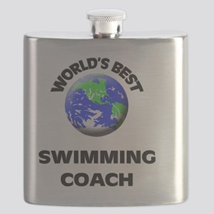 World's Best Swimming Coach Flask