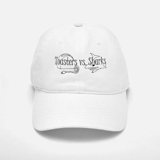 Toasters vs. Sharks Baseball Baseball Cap