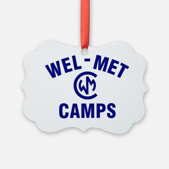 Wel-Met Camps Ornament