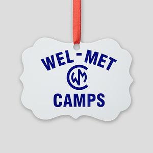 Wel-Met Camp Merchandise Picture Ornament