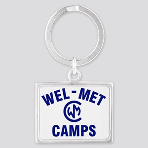 Wel-Met Camp Merchandise Landscape Keychain
