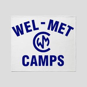 Wel-Met Camp Merchandise Throw Blanket