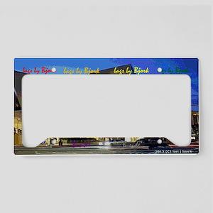 concert hall clutch B side License Plate Holder