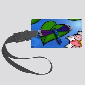 CAB dragsonfly clutch side A Large Luggage Tag