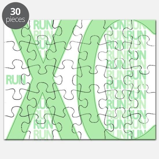 XC Run Run Green Puzzle
