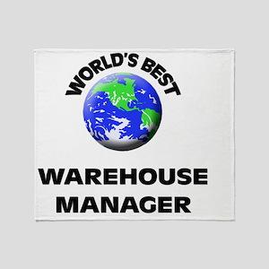 World's Best Warehouse Manager Throw Blanket