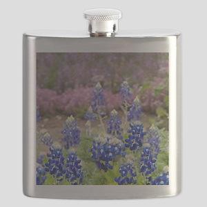 BLUEBONNET SHOWER CURTAIN Flask