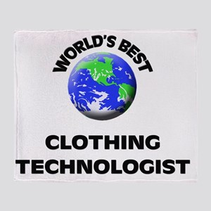 World's Best Clothing Technologist Throw Blanket