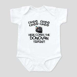 Donovan Train Infant Bodysuit