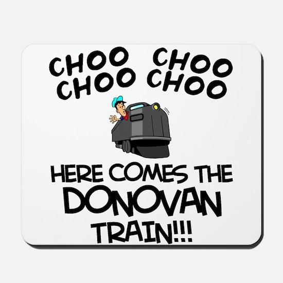 Donovan Train Mousepad