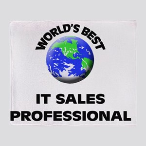 World's Best It Sales Professional Throw Blanket