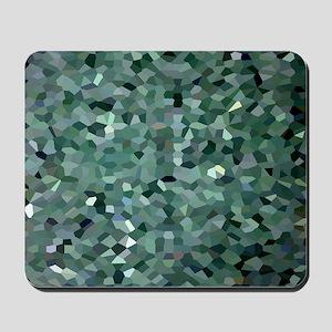 Broken Glass Art Mousepad