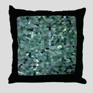 Broken Glass Art Throw Pillow