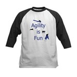 Agility Is Fun JAMD Kids Baseball Jersey